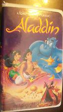 Aladdin (VHS, 1993) clamshell, black diamond issue