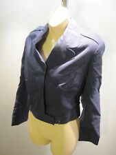 Nos Vintage Navy Wool Military Surplus UFO Jacket Bomber Short Uniform Coat 16R