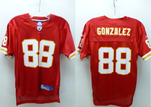 New Vtg Reebok Kansas City Chiefs Tony Gonzalez #88 football Jersey yth M 10-12