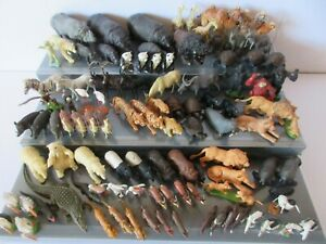 BRITAINS Herald Plastic TOY ZOO ANIMALS 1960's - 1990's All Wildlife Lots £9.95