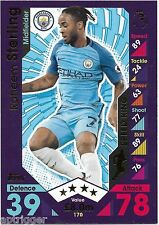 2016 / 2017 EPL Match Attax Base Card (170) Raheem STERLING Manchester City