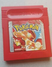 Genuine Original Pokemon Red, Nintendo Gameboy Colour + Advance
