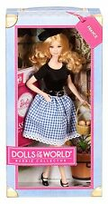BARBIE® MATTEL FRANCESE DA COLLEZIONE X8420 DOLLS OF THE WORLD PINK LABEL NUOVO