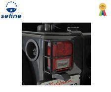 Smittybilt For 07-14 Euro Tail Light Guards - Black  Jeep Wrangler (JK) - 8665