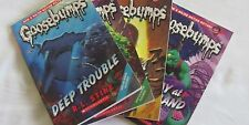 GOOSEBUMPS Deep Trouble, Monster Blood, One Day at Horrorland, Curse Mummy's