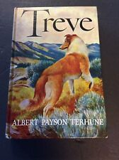 TREVE by Albert Payson Terhune Pictorial Cover Edition Circa 1963