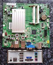 HP Compaq D410 Intel Atom Motherboard 616662-001 619965-001 & IO shield Free del