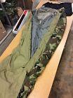 4-Piece Modular Sleep System MSS Military Sleeping Bag ECWS -30 USGI A+ Cond.