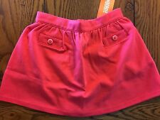 *NWT GYMBOREE* Girls BONJOUR BRIGHT Bright Rose Button Pocket Skirt Size 5