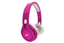 SMS Audio Street by 50 Cent Wired on Ear Headphones Limited Edition Pink