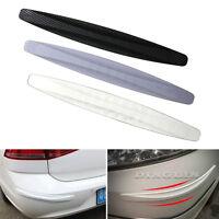 2x Universal Car Carbon Fiber Anti-rub Protector Corner Bumper Scratch Guard Bar