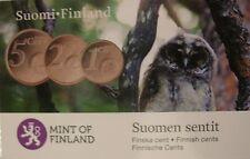 Finland coincard 2010 met hierin de 1-2-5 cent