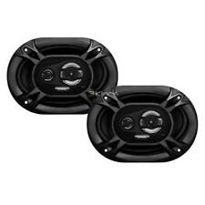 NEW (2) 5x7 Car Audio Stereo Speakers.Full Range Coaxial Pair.4ohm.shallow mount
