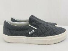 Vans Unisex Gray Wool Sneaker Men's 8.5 Women's 10