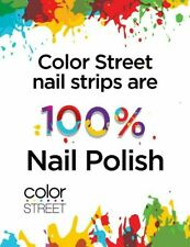 Color Street Real Nail Polish Strips Current & Retired Styles Free Fast Shipping