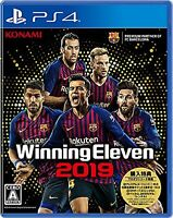 PS4 Winning Eleven 2019 Free Shipping with Tracking number New from Japan