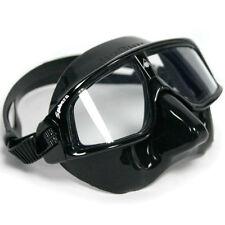 AquaLung AquaSphere Sphera Black Silicone Frame Scuba Diving Swim Swimming Mask