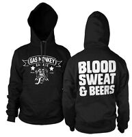 Officially Licensed Gas Monkey Garage GMG - Blood, Sweat & Beers Hoodie S-XXL