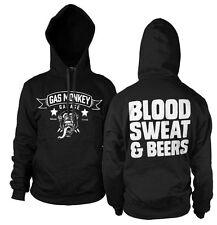 GAS Monkey Garage Blood Sweat & Beers Hoodie - Official Distributer 2xl