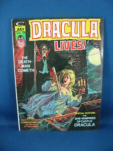 DRACULA LIVES 7 VF+ 1974