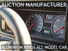 VW Golf 2 mk2 1983-1992  2- Teilig Aluminium Tachoringe / Tacho Ringe