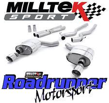 MILLTEK ssxfd154 Mustang 5.0 V8 GT SISTEMA DI SCARICO CAT BACK non RES DUAL Lucidato