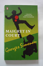 GEORGES SIMENON - MAIGRET IN COURT 2006 PAPERBACK  - EXCELLENT CONDITION