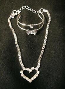 Sparkly Neclace and Bracelet for Infants