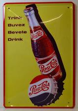 cola - Pepsi-Cola - getränk/drink - blechschild 30 x 20 cm (BS 640)