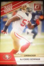 2010 Donruss NaVorro Bowman Rated Rookie card #78 San Francisco 49ers/ Raiders
