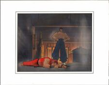 STREET FIGHTER Hand Painted Original Animation cell and background capcom