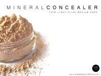 Multi-Task Mineral Make up Concealer Loose Powder Long Lasting Full Coverage