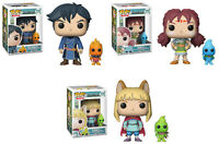 Funko POP! Games ~ NI NO KUNI VINYL FIGURE SET ~ Roland, Evan & Tani