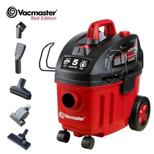 Vacmaster Shop Vacuum Cleaner Wet Dry Car Carpet Cleaners 5 Peak HP 4 Gallon