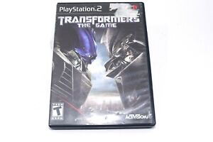 Transformers: The Game PlayStation 2 PS2 Video Game In Case No Manual