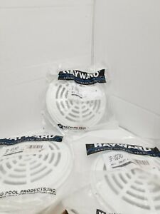 3 pack Genuine Hayward Pool Drain Cover Inlet Fitting- 8 Inch- SP-1030. New