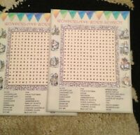 Alice In Wonderland Party Favour Word Search Game Birthday Wedding