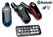 TRANSMISOR FM 5 EN 1 CON BLUETOOTH 2X USB TOMA DE MECHERO DE COCHE PENDRIVE MP3