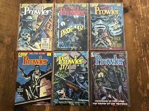 PROWLER & REVENGE OF THE #1 2 3 4 SET #1 2 COMICS TIM TRUMAN JOHN K SNYDER III #