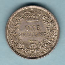 New listing Great Britain. 1872 Shilling. Die 66. Unc - Full Lustre