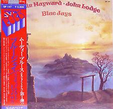 "MOODY BLUES Hayward & Lodge ""Blue Jays"" orig 1975 Japan original Lp w/Obi"