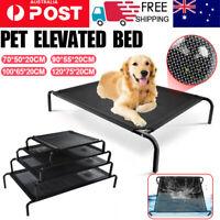 Black Pet Bed Dog Heavy Duty Trampoline Hammock Canvas Cat Puppy Cover S-XL 2021