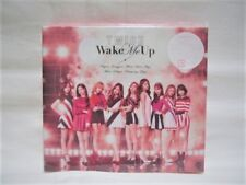 TWICE - WAKE ME UP (TYPE-A) - JAPAN CD+DVD+BOOK+CARD Ltd, NEW, F/S