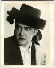Canada, Raoul Jobin, ténor québécois Vintage . Photo Sudak  Tirage argentique