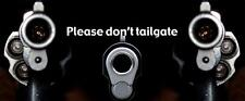 Please Don't Tailgate Truck Rear Tailgate Wrap Vinyl Graphic Decal Sticker Wrap