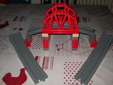 LEGO DUPLO set 3774 PONT FERROVIAIRE POUR TRAIN COMPLET ( MONDIAL RELAY 4€ )