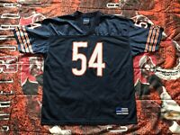 Vintage Brian Urlacher #54 Adidas Chicago Bears NFL Football Jersey Mens XL EUC