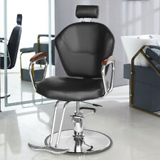 360° Swivel Salon Barber Chair Hydraulic Recliner Hair Styling SPA Equipment