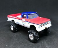 1965 Dodge W100 4x4 Lifted Custom 1/64 Diecast Truck Farm Off Road 4WD W200