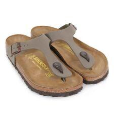 Sandali e scarpe grigio Birkenstock sintetico per il mare da donna
